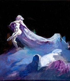 brudesworld:  Gravedancer by Frank Frazetta Heritage