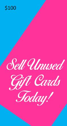 Sell your unused gift cards online for cash almost instantly ...