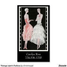 Fashion Lingerie Business Card