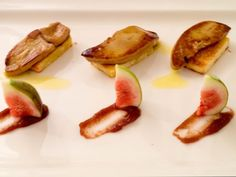 Seared foie gras with caramelized fig puree and crispy brioche at Signature Restaurant in Warsaw