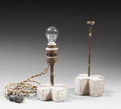 Two lamps - Constantin Brancusi