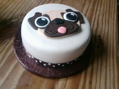 Pug Cake by ~KaelenDarkheart on deviantART