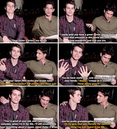 teen wolf - dylan o´brien and tyler posey