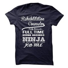 Rehabilitation Counselor only because full time multitasking T Shirts, Hoodies Sweatshirts. Check price ==► http://store.customtshirts.xyz/go.php?u=https://www.sunfrog.com/LifeStyle/Rehabilitation-Counselor-only-because-full-time-multitasking.html?41382