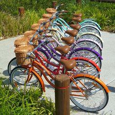 Bicycle Handlebar Bike Bell Rainbow Paint Drip Pride Ink Colors