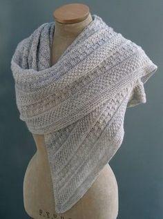 Gorgeous detail Sue Lazenby Designs - - Lichen & Moss shawl