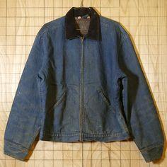 【Wrangler】USA製ビンテージ70s古着TALONジップデニムジャケット|メンズXL相当