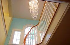 Stairwell to the design studio