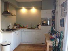 Happy 'new' kitchen! Early Dew Flexa, Ikea