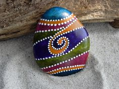 ZEN Easter Egg Sea Stone from Cape Cod