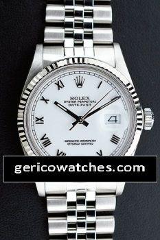 Gerico National/Rolex/Breitling/AudemarsPiguet - Pre-Owned Rolex Datejust White dial , $3,149.00 (http://stores.gericowatches.com/rolex-datejust-white-dial/)