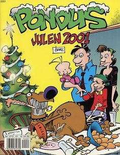 """Pondus Julehefte 2001"" av Frode Øverli Stephen Hillenburg, Walt Disney, Illustrators, Comic Books, Comics, Reading, Art, Art Background, Kunst"