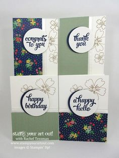 3-D Cruise Swap: Affectionately Yours Note Card Sets...#stampyourartout #stampinup - Stampin' Up!® - Stamp Your Art Out! www.stampyourartout.com