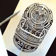 Maori Tattoo Designs | Maori tattoo design by Rabbittc on DeviantArt