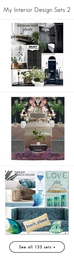 """My Interior Design Sets 2"" by elena-777s ❤ liked on Polyvore featuring interior, interiors, interior design, home, home decor, interior decorating, WALL, plants, planters and Bernhardt"