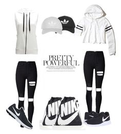 Designer Clothes, Shoes & Bags for Women Hollister, Topshop, Yoga, Shoe Bag, Nike, Pretty, Polyvore, Stuff To Buy, Shopping