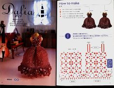 And again we'll step aside a little bit from beaded jewelry and continue the doll topic. Today i'll offer some patterns of beaded doll dresses!!!! Yes, it's rather unusual!! but v…