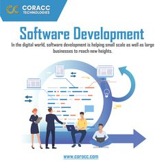 Coracc Technologies offers outstanding BPO Services, Web Development, Web Designing, Software Development and Application Development Services in USA and Canada. Helping Hands, Software Development, Technology, Digital, Business, Tech, Tecnologia, Store, Business Illustration