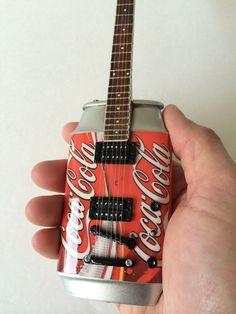 Coca Cola Coke Miniature Guitar - very rare - Great collectible items