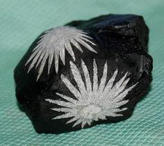 Chrysanthemenstein 2 Blüten