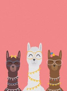 Coole Mama Lamas Animated Evite Einladung – Well come To My Web Site come Here Brom Trendy Wallpaper, Cute Wallpaper Backgrounds, Cute Wallpapers, Iphone Wallpaper, Cartoon Wallpaper, Disney Wallpaper, Cute Llama, Baby Llama, Funny Llama
