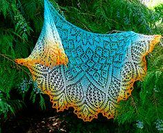 Ravelry: Ozone Lace Shawl pattern by Anna Victoria