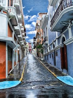 San Juan Corner - Puerto Rico - by John Rivera Oh The Places You'll Go, Places To Travel, Places To Visit, Beautiful Islands, Beautiful Places, Puerto Rico History, Puerto Rican Culture, Porto Rico, Enchanted Island
