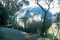 Cocoon House in Victoria's Otway Ranges, Australia, by Michael Bellemo and Cat Mcleod
