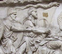 """Lupii-dacici Mărturii incredibile despre daci: """"Sunt atât de barbari încât nici nu înţeleg ce este aceea pace"""" Romanian Flag, Trajan's Column, Spanish Armada, Places To Visit, Statue, History, Pace, Blood, Films"""