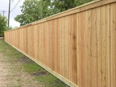 Western Red Cedar Privacy Fence with Top Cap & Bottom Kick Board - San Marcos, TX for Villas @ Willow Springs Apt Cedar Wood Fence, Cedar Fence Boards, Wood Privacy Fence, Privacy Fence Designs, Cedar Siding, Diy Fence, Fence Ideas, Wood Fences, Gate Ideas