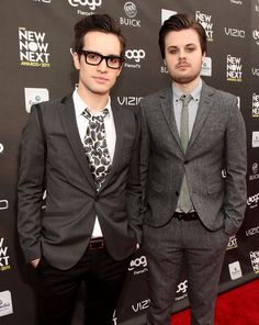 Brendon! Urie and Spencer! Smith <3