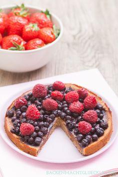 Veganer und glutenfreier Kuchen, ohne zucker mit kichererbsen