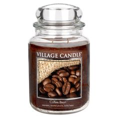 Village Candle Coffee Bean Large Jar Candle | ACHICA