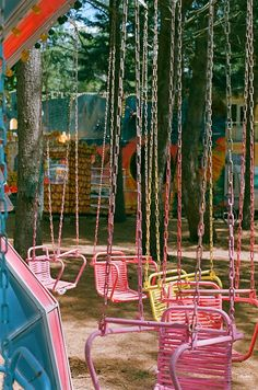 Color Inspiration - Pink Chairs and Chains