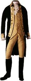 GeorgeGeorge Washington's uniform, 1770s-80s     The uniform coat, waistcoat, and pair of knee breeches came to the Smithsonian in 1883 from the Patent Office. (The ruffled shirt and boots are    Washington's uniform, 1770s-80s.