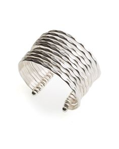 Silver Plated Cuff | East