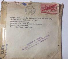 WW2 POW Card From Newark NJ To Germany Via Switzerland Returned    eBay