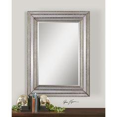 Uttermost 14465 Seymour Mirror in Antiqued Mirror 35'x47'