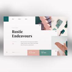 Interior Design Website by Daniel Tan ( @danieldesignwork ) — — — Follow @designboardone — — — #design #digital #webdesign #userinterface…