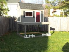 Ana White | Playhouse for Christmas...almost done! - DIY Projects