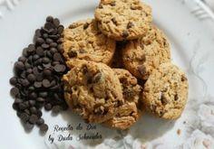 Cookies com gotas de chocolate - Receita do Dia