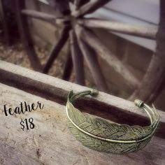 Our Feather cuff is perfect for any outfit... www.plunderdesign.com/indiana