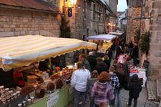Marché de Noël Aubusson et oui les amis, c'est en Creuse ! #YesYouAre #Limousin