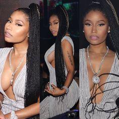 The dress 👗 is so trashy Black Girl Braids, Braids For Black Women, Braids For Black Hair, Girls Braids, Black Girls Hairstyles, Ponytail Hairstyles, Summer Hairstyles, Hairstyle Ideas, Nicki Minaj Braids