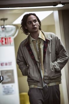 """S1 E1 """"Pilot"""" Fear The Walking Dead...once this kid gets off the pharmaceuticals - he's gonna be a BOSS at surviving and taking care of walkers!! I can see him lasting a long time on this show!"""