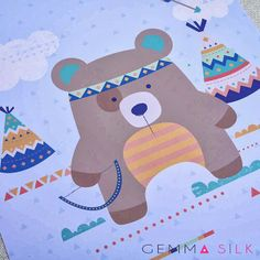 Gemma Silk Design Studio - Freelance Surface Pattern Designer and Illustrator: Portfolio