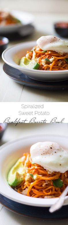 Spiralized Sweet Pot