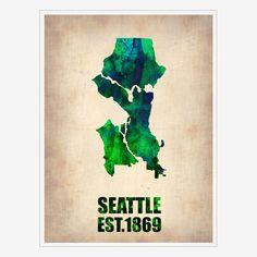 Fab.com | Seattle Print