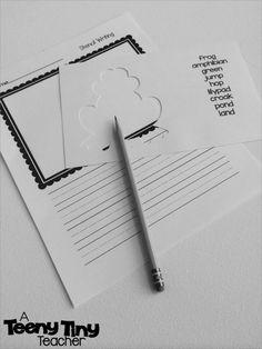 A Teeny Tiny Teacher: Stencil Writing