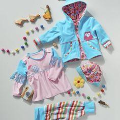 BERNINA-Blog - kostenloses Schnittmuster Babyausstattung Gr. 62-92